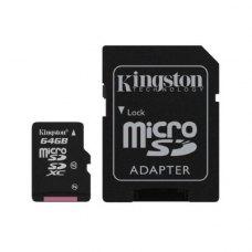 Карта пам'яті Kingston 64 GB Class 10
