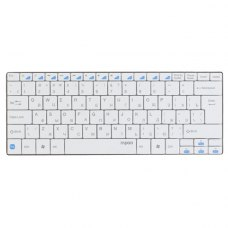 Клавіатура бездротова, Rapoo E6100 White Bluetooth