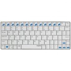 Клавіатура бездротова Rapoo E6300 White Bluetooth