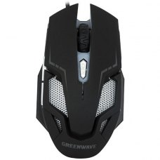 Мишка дротова Greenwave KM-GM-4000LU (R0014222) Black