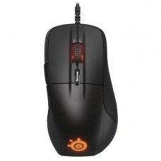 Мишка дротова SteelSeries Rival 700 Black Led Orange (62331)