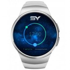 Смарт-годинник SmartYou S1 Silver/White (1.33 IPS 240*240, MTK2502, 64 МБ/ 128 МБ, Bt 4.0, Android и iOS, 350 mAh)
