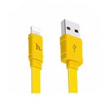 Кабель HOCO X5 Bamboo for lightning (Yellow)