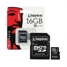 Карта пам'яті Kingston 16 GB Class 10