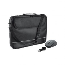 Сумка для ноутбука 15.6, TRUST Mouse with Carry bag (18902) Чорний