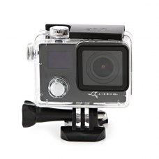 Екшн-камера AIRON PRO 4K+ black  (170°, 2 LCD, 4K 25FPS, 2.7K 30FPS, 1080p 30/60FPS, microSD до 128ГБ, mHDMI, ДУ, підводний бокс, 2х1050 мА*ч)