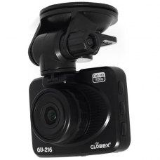 Відеореєстратор Globex GU-216 Full HD (екран 2.7,2Мп CMOS OV2710, кут огляду гориз./верт. - 120 / 98 град., MOV, 1920 х 1080/25fps, 2 х микроSDHC, до