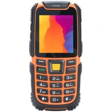 Мобiльний телефон Nomi i242 X-treme Black-Orange