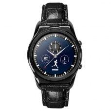 Смарт годинник - UWatch DZ04 (Black) (шкіряний ремінь)