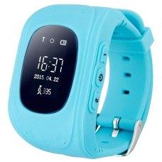 Смарт годинник дитячий (GPS Tracker) Q50 (Blue)