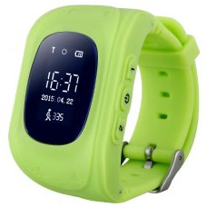 Смарт годинник дитячий (GPS Tracker) Q50 Green