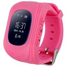Смарт годинник дитячий (GPS Tracker) Q50 (Pink)