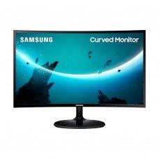 Mонитор 23.5 Samsung Curved C24F390F (LC24F390FHIXCI) black