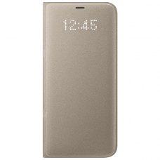 Чохол Samsung G955 (S8+) EF-NG955PFEGRU LED View Cover, Gold