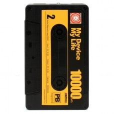 Зовнішній акумулятор PowerBank Remax Tape 10000mAh Black