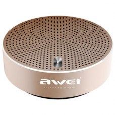 Колонка портативна AWEI Y800 Bluetooth Gold