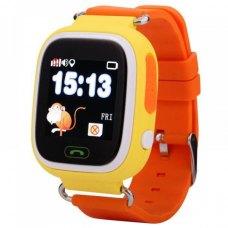 Смарт годинник дитячий (GPS Tracker) Q90 (Orange)