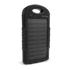 Зовнішній акумулятор 'Powerbank' ColorWay Solar Charge 6000mAh LED Black/Blue