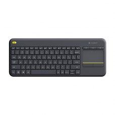 Клавіатура дротова Logitech K400 Plus Black