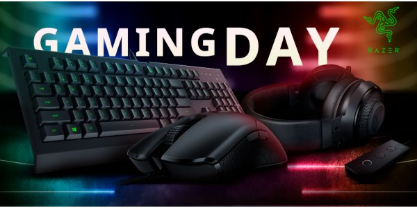 Gaming Day від Razer та Steelseries!