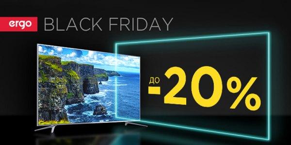 Black Friday з телевізорами Ergo