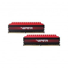 DDR-4  16GB KIT(2*8GB) PC4-24000 (PC3-3000) Viper 4  (RED) Patriot  Original