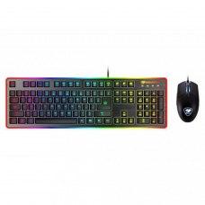 Комплектдротовий(клавіатура+мишка),Cougar Deathfire EX USB Black