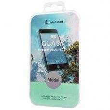 Захисне скло  MakeFuture 3D для Apple iPhone 8 White