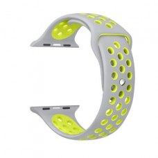Ремінець Nike Watch Band for Apple Watch 42mm Grey/Volt