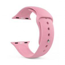 Ремінець Silicone Watch band for Apple Watch 42/44 mm Pink