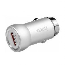 Автомобільний зарядний пристрій HOCO Z4 2.1А Steel