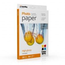 Папір ColorWay A4 (ПГ230-50) (PG230050A4) 230 г/м2, 50 аркушів, глянець