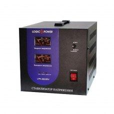 СтабілізаторLogicpowerLPH-5000RV(00001591)3000VA,2100Вт,140~260VAC50/60Hz,220V+/-3%,клем