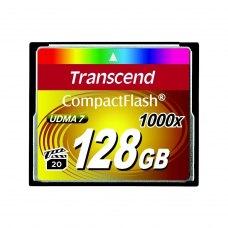 Карта памяти Transcend CF 128GB(1000X)