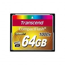 Карта памяти Transcend CF 64GB(1000X)