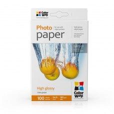 Папір ColorWay 10x15 (ПГ180-100) 180 г/м2, 100 аркушів, глянець