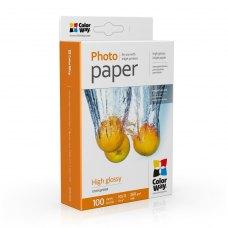 Папір ColorWay 10x15 (ПГ260-100) (PG2601004R) 260 г/м2, 100 аркушів, глянець