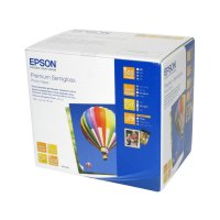 Папір EPSON 10х15 Premium Semigloss Photo (C13S042200) 250 г/м2, 500 аркушів, матовий