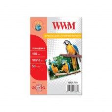 Папір WWM 10x15 (G150.F50) 150 г/м2, 50 аркушів, глянець