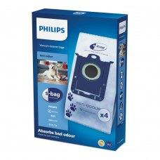 Змінний синтетичний мішок-пилозбірник Anti-Odeur S-bag Philips FC8023/04