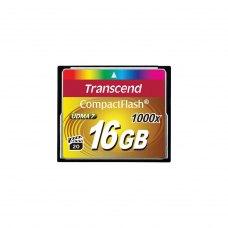 CF карта, 16 Гбайт, 1000x, Transcend (TS16GCF1000)