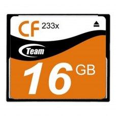 CF карта, 16 Гбайт, 233x, Team (TCF8G23301)