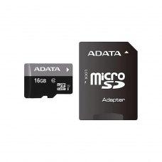 microSDHC карта 16Gb A-Data class10 з SD адаптеромUHS-1 (AUSDH16GUICL10-RA1)
