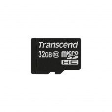 microSDHC карта 32Gb Transcend Premium class10 без адаптера (TS32GUSDC10)