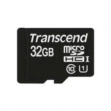 microSDHC карта 32Gb Transcend Premium class10 без адаптера UHS-1 (TS32GUSDCU1)