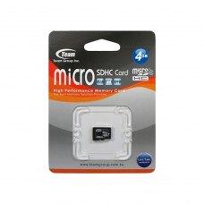 microSDHC карта 4Gb Team class4 без адаптера (TUSDH4GCL402)