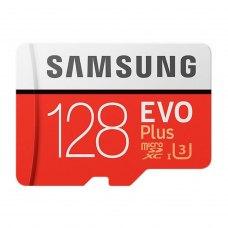 microSDXC карта 128Gb Samsung class10 з SD адаптером EVO Plus UHS-I (MB-MC128GA/RU)