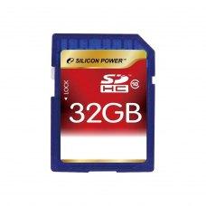SDHC карта 32Gb Silicon Power class10 (SP032GbSDH010V10)