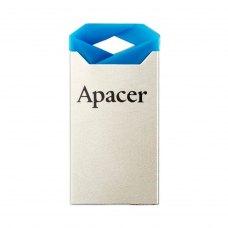 USB флеш, 16 Гбайт, Apacer AH111 Blue Silver (AP16GAH111U-1), метал, синій з сріблом, USB 2.0