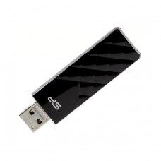 USB флеш 16Gb Silicon Power Ultima U03 Black (SP016GbUF2U03V1K) метал чорний USB 2.0
